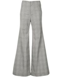 Georgia Alice - Memory Flared Trousers - Lyst