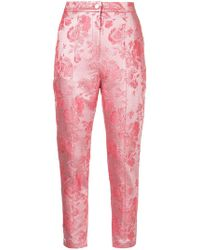 Manning Cartell - Metallic Kyoto Calling Floral Trousers - Lyst