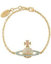 Vivienne Westwood - Orb Chain Bracelet - Lyst