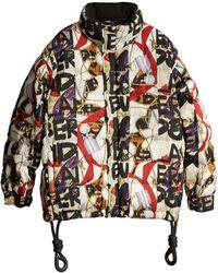Burberry - Graffiti Print Puffer Jacket - Lyst