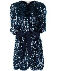 P.A.R.O.S.H. - Belted Sequin Coat - Lyst