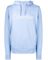 Calvin Klein - Classic Logo Hoodie - Lyst