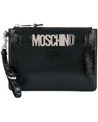 Moschino - Clutch Bag - Lyst