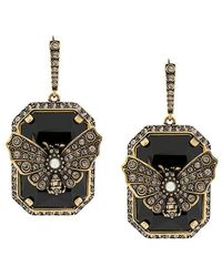 Alexander McQueen - Embellished Butterfly Earrings - Lyst