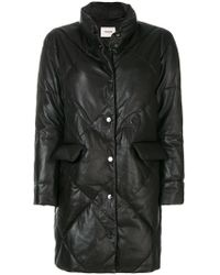 Max & Moi | Diamond Quilted Coat | Lyst
