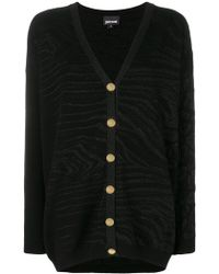 Just Cavalli - V-neck Cardigan - Lyst