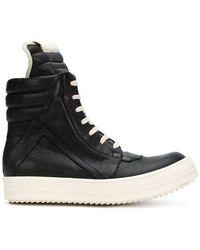 Rick Owens - Geobasket Hi-top Sneakers - Lyst