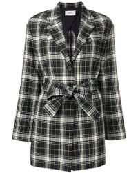 Pringle of Scotland - Tartan Belted Jacket - Lyst