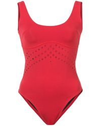 Cynthia Rowley - Racy Perforated One Piece - Lyst