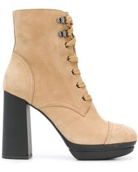 Hogan - Lace-up Ankle Boots - Lyst