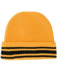 Maison Margiela - Striped Rib Knit Beanie - Lyst