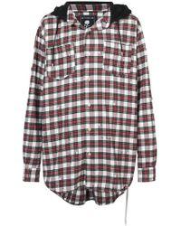 Mastermind Japan - Checked Shirt Jacket - Lyst