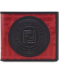Fendi - Glazed Jacquard Billfold Wallet - Lyst