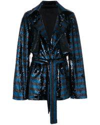 RTA - Sequin Embellished Jacket - Lyst