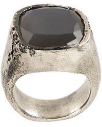 Tobias Wistisen - Stone Embellished Ring - Lyst