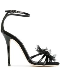 8a6a969ac2d Giuseppe Zanotti - Jewelled Corsage Sandals - Lyst