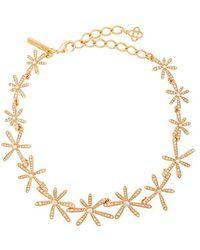 Oscar de la Renta - Daisy Collar Necklace - Lyst