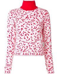 AALTO - Turtle Neck Sweater - Lyst