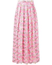 Ultrachic | Printed Skirt | Lyst