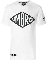 House of Holland - Umbro Slogan T-shirt - Lyst