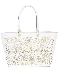Christian Siriano - Embossed Tote Bag - Lyst