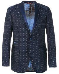 Al Duca d'Aosta - Dot Effect Suit Jacket - Lyst