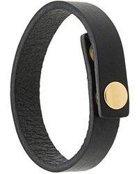 Undercover - Press Stud Bracelet - Lyst