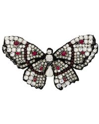 Ermanno Scervino - Butterfly Brooch - Lyst