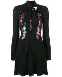 Valentino - Sequinned Butterfly Dress - Lyst