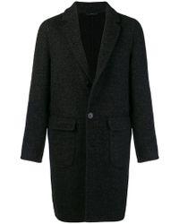 Hevò - Single-breasted Coat - Lyst