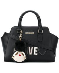 Love Moschino - Love Patch Tote Bag - Lyst