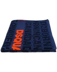 DSquared² - Logo Print Towel - Lyst