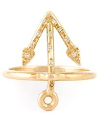 Natasha Zinko - Mini Anchor Ring - Lyst