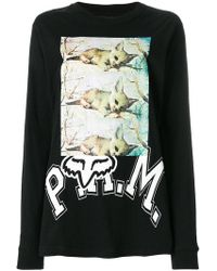 P.a.m. Perks And Mini - Printed Sweatshirt - Lyst