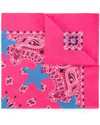 Guild Prime - Patterned Star Print Scarf - Lyst