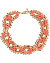 DSquared² - Embellished Chain Necklace - Lyst