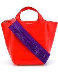 Giorgio Armani - Oversized 2way Bag - Lyst