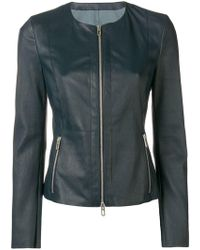 DROMe - Long-sleeved Cropped Jacket - Lyst