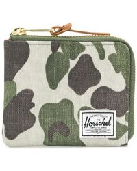 Herschel Supply Co. - Camouflage Print Wallet - Lyst