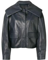 DROMe - Concealed Front Jacket - Lyst