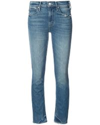 Mother | Skinny Ankle-grazer Jeans | Lyst