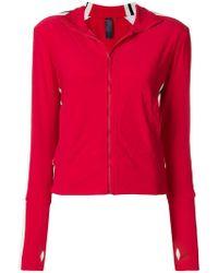 Norma Kamali - Side Stripe Zip Jacket - Lyst