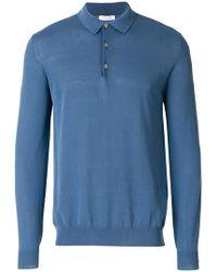 Boglioli - Knitted Polo Shirt - Lyst