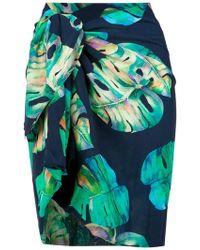 Brigitte Bardot - Printed Skirt - Lyst