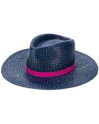 851f55b33ad Paul Smith - Open Weave Hat - Lyst