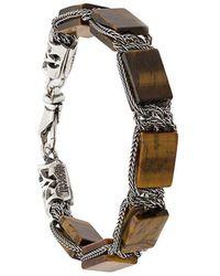Emanuele Bicocchi - Square Bead Chain Bracelet - Lyst