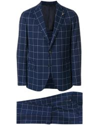 Gabriele Pasini - Classic Checked Suit - Lyst