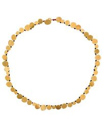 Katerina Makriyianni - Hammered Coins Necklace - Lyst