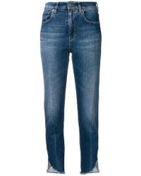 Pinko - Ungesäumte Jeans - Lyst