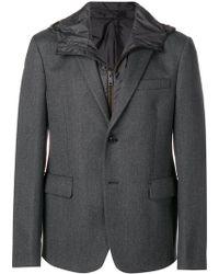 Prada - Gabardine Blazer Jacket - Lyst